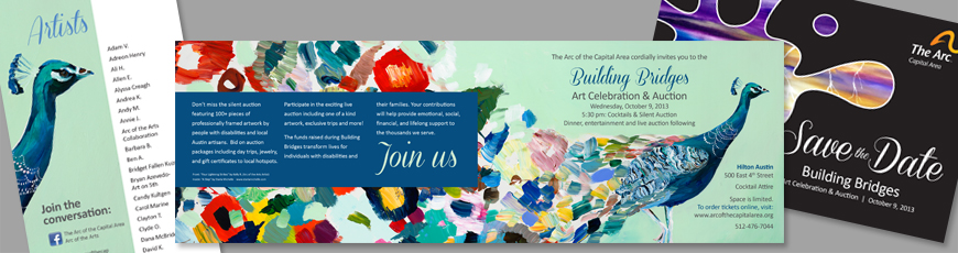 Building Bridges gala invitation